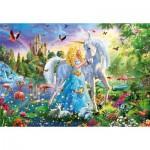 Puzzle  Educa-17654 La Princesse et la Licorne