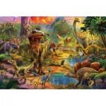 Puzzle  Educa-17655 Dinosaures