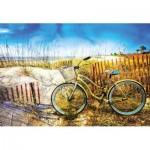 Puzzle  Educa-17657 Vélo dans les Dunes
