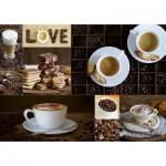 Puzzle  Educa-17663 Café