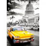 Puzzle  Educa-17690 Taxi à la Havane, Cuba
