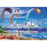 Puzzle  Educa-17693 Kitesurfing