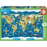 Puzzle  Educa-17727 Village d'Enfants