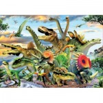Puzzle  Educa-17961 Dinosaures