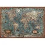 Puzzle  Educa-18017 Carte du Monde Antique