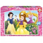 2 Puzzles - Disney Princess