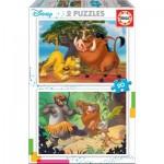 2 Puzzles - Disney