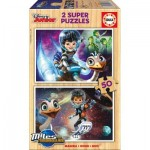 2 Puzzles en Bois - Disney Junior