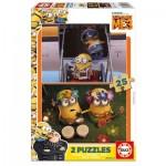 2 Puzzles en Bois - Minions