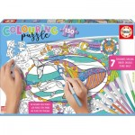 Colouring Puzzles - Animaux Marins