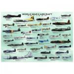 Puzzle  Eurographics-6000-0075 Avions de la Seconde Guerre Mondiale