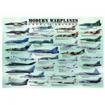 Puzzle  Eurographics-6000-0076 Avions de l'ère moderne