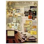 Puzzle  Eurographics-6000-0084 Léonard de Vinci