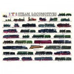 Puzzle  Eurographics-6000-0090 Locomotives à vapeur