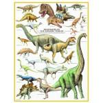 Puzzle  Eurographics-6000-0099 Les Dinosaures - Période du Jurassique