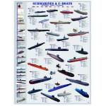 Puzzle  Eurographics-6000-0132 Sous-marins