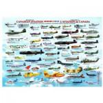 Puzzle  Eurographics-6000-0231 Histoire de l'aviation canadienne