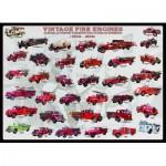 Puzzle  Eurographics-6000-0239 Camions de pompier vintage (1909 - 1959)