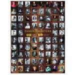 Puzzle  Eurographics-6000-0249 Ecrivains célèbres