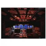 Puzzle  Eurographics-6000-0265 Cockpit de la navette spatiale Columbia NASA