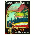 Puzzle  Eurographics-6000-0327 Canadian Pacific Rail - Les Rocheuses canadiennes