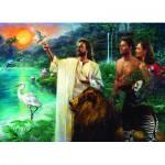 Puzzle  Eurographics-6000-0356 Nathan Greene - Création de l'Eden