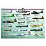 Puzzle  Eurographics-6000-0378 Alliés Bombardiers - Seconde Guerre mondiale