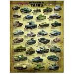 Puzzle  Eurographics-6000-0388 Char de la Seconde Guerre Mondiale