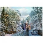 Puzzle  Eurographics-6000-0425 Davison - Promenade de Noël en Nouvelle-Angleterre