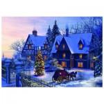 Puzzle  Eurographics-6000-0428 Dominic Davison - A la maison pour Noël
