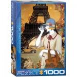 Puzzle  Eurographics-6000-0517 Helena Lam - Aventure à Paris
