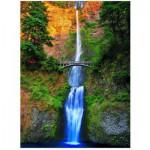 Puzzle  Eurographics-6000-0546 Chutes de Multnomah - Oregon