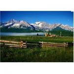 Puzzle  Eurographics-6000-0547 Montagnes de Sawtooth - Idaho