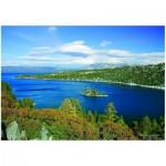 Puzzle  Eurographics-6000-0549 Lac Tahoe - Baie d'émeraude Californie