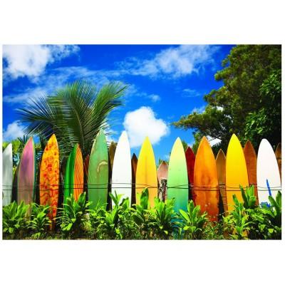 Puzzle Eurographics-6000-0550 Le paradis des Surfers - Hawaii
