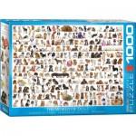 Puzzle  Eurographics-6000-0581 Un Monde de Chien