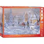Puzzle  Eurographics-6000-0612 Douglas R. Laird - The Original Six