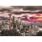 Puzzle  Eurographics-6000-0660 Seattle - Space Needle