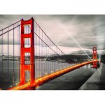 Puzzle  Eurographics-6000-0663 San Francisco Golden Gate Bridge