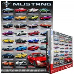 Puzzle  Eurographics-6000-0698 Ford Mustang Evolution 50th Anniversary