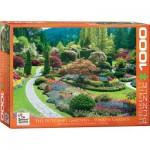 Puzzle  Eurographics-6000-0700 The Butchart Gardens Sunken Garden