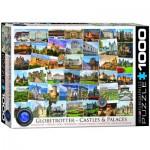 Puzzle  Eurographics-6000-0762 Globetrotter - Châteaux et Palaces