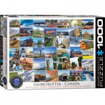 Puzzle  Eurographics-6000-0780 Globetrotter - Canada