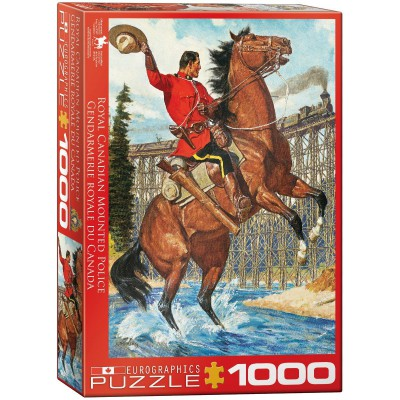 Puzzle Eurographics-6000-0791 Royal Canadian Mounted Police