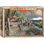 Puzzle  Eurographics-6000-0794 Kevin Daniel - La Ferme Abandonnée