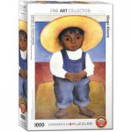 Puzzle  Eurographics-6000-0799 Diego Rivera - Portrait d'Ignacio Sanchez