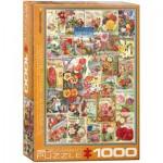 Puzzle  Eurographics-6000-0806 Catalogues de Graines de Fleurs