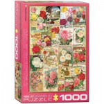 Puzzle  Eurographics-6000-0810 Catalogue de Graines de Roses