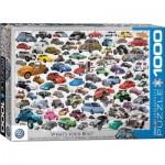 Puzzle  Eurographics-6000-0815 VW Beetle - Quelle est votre Coccinelle ?