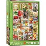 Puzzle  Eurographics-6000-0817 Catalogue de Semences de Légumes